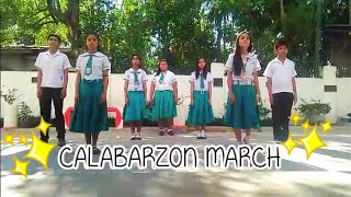 CALABARZON MARCH DANCE STEPS (2019 NEW!)