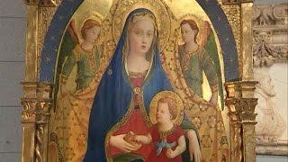 El Prado adquiere 'La Virgen de la Granada' de Fra Angelico