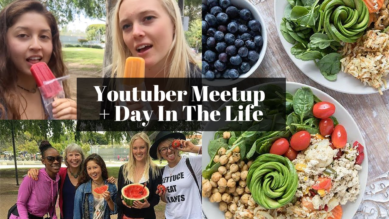 Vegan Youtuber Meetup + Day In The Life | Avocado Roses & Pvris Concert!