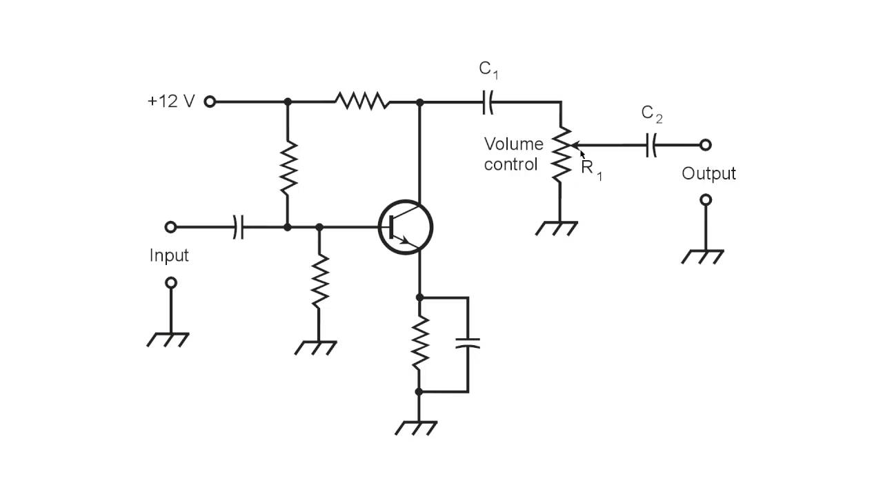 medium resolution of a simple audio volume control youtube rh youtube com volume control wiring diagram volume control dial for pa speakers