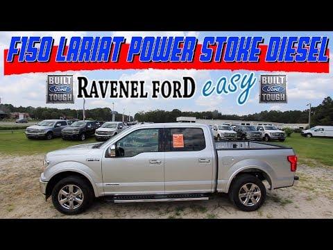 New 2018 FORD F150 Lariat w/3.0L Power Stroke Diesel - In Depth Review @ Ravenel Ford