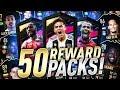 50 NEW REWARD PACKS
