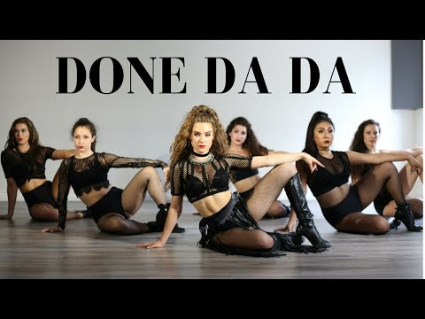 DONE DA DA - MASSARI II MONICA GOLD CHOREOGRAPHY