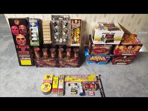 July 4th, 2018 Firework Stash Update (Part 6) - Pickup From Sandusky Fireworks
