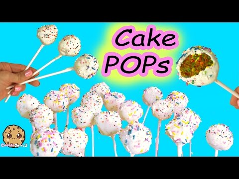Making Sugar Cookie Chocolate Rainbow Sprinkled Cake Pops Easy How To Video