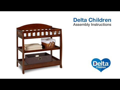 Delta Children Elite Changing Table Assembly Video
