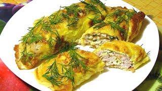Бризоли / Яичный Рулет С Куриным Фаршем / How To Make Roll With Chicken / Delicious Recipe