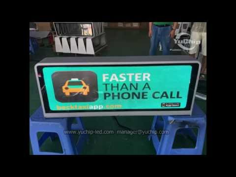 P2.5 Taxi Car Top LED Display,Best HD Taxi Top Advertising Signs
