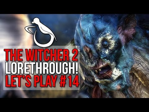 Witcher 2 / #14 - Harpies, Harpies Everywhere. Also Trolls. (Lorethrough) - Let's Play thumbnail