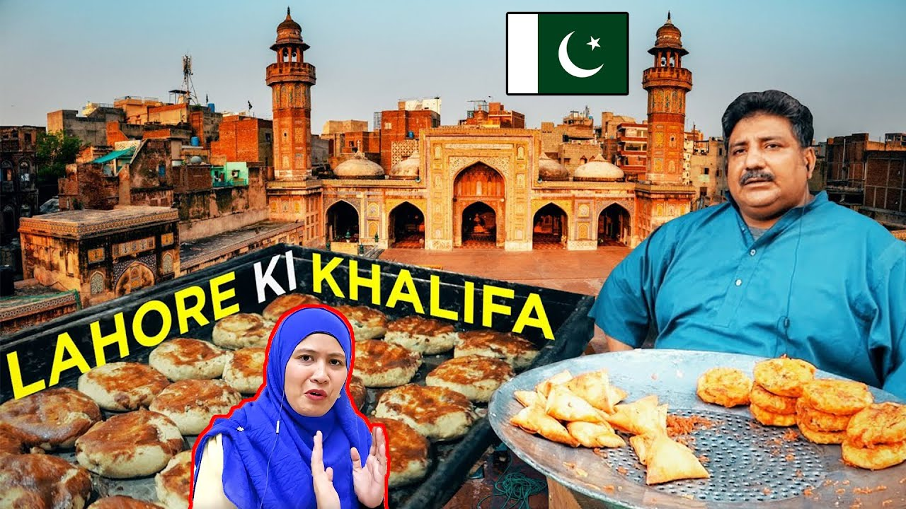 Old Street Food of Lahore, Pakistan || Malaysian Girls Food Reactions