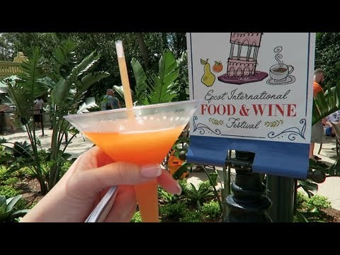 Drinking Our Way Around The World | Epcot's Food & Wine Festival 2017