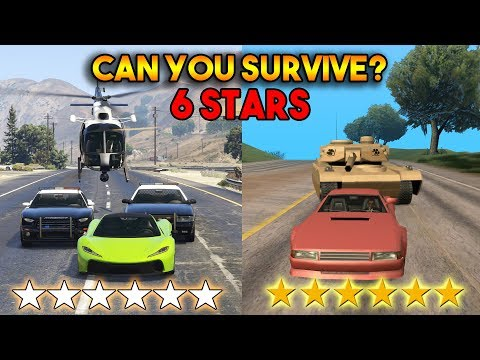 CAN YOU SURVIVE 6 STAR WANTED LEVEL? (IN GTA 5 AND SAN ANDREAS) thumbnail