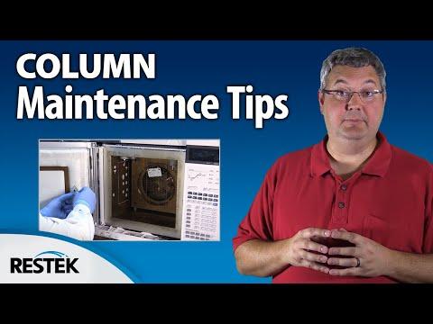 Trimming a GC Column to Remove Contamination