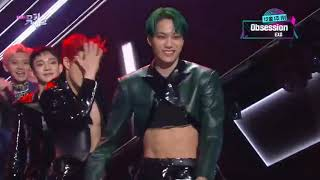 191206 EXO Music Bank 'OBSESSION' 1st Win Relay Dance