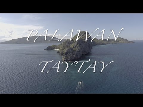 THE MOST BEAUTIFUL PLACE ON EARTH (All-Drone Highlights of Taytay, Palawan)
