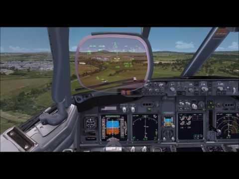 Brisbane to Canberra (landing), QFA1305