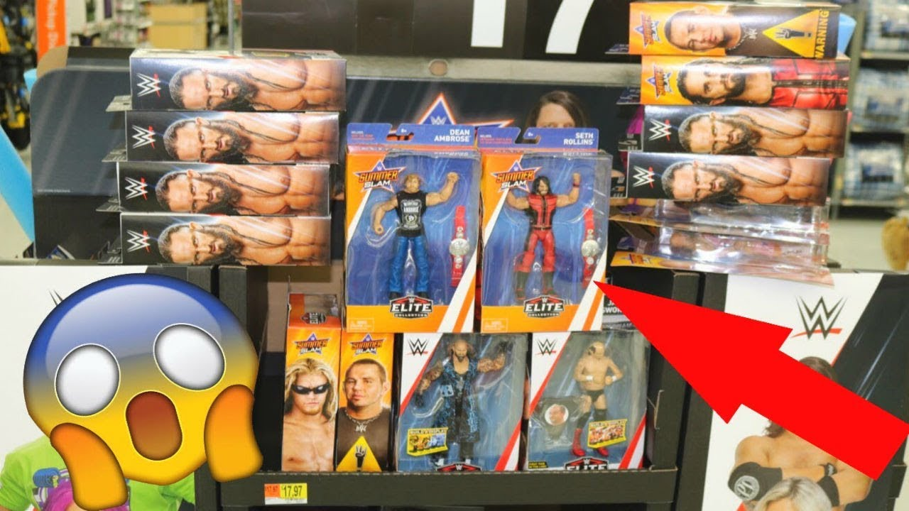BRAND NEW WWE FIGURES FOUND ON EPIC TOY HUNT!