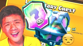 I'M DONE WITH THIS GAME | LEGENDARY Chest Offer Opening | Clash Royale