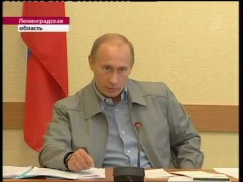 Путин в Пикалёво жёстко разговаривает с Дерипаской - Смотреть видео онлайн