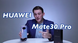 Huawei Mate 30 pro unboxing video and hands on look