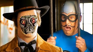 Cowboy Android! - Full Episode - The Aquabats! Super Show! Western with Paul Scheer