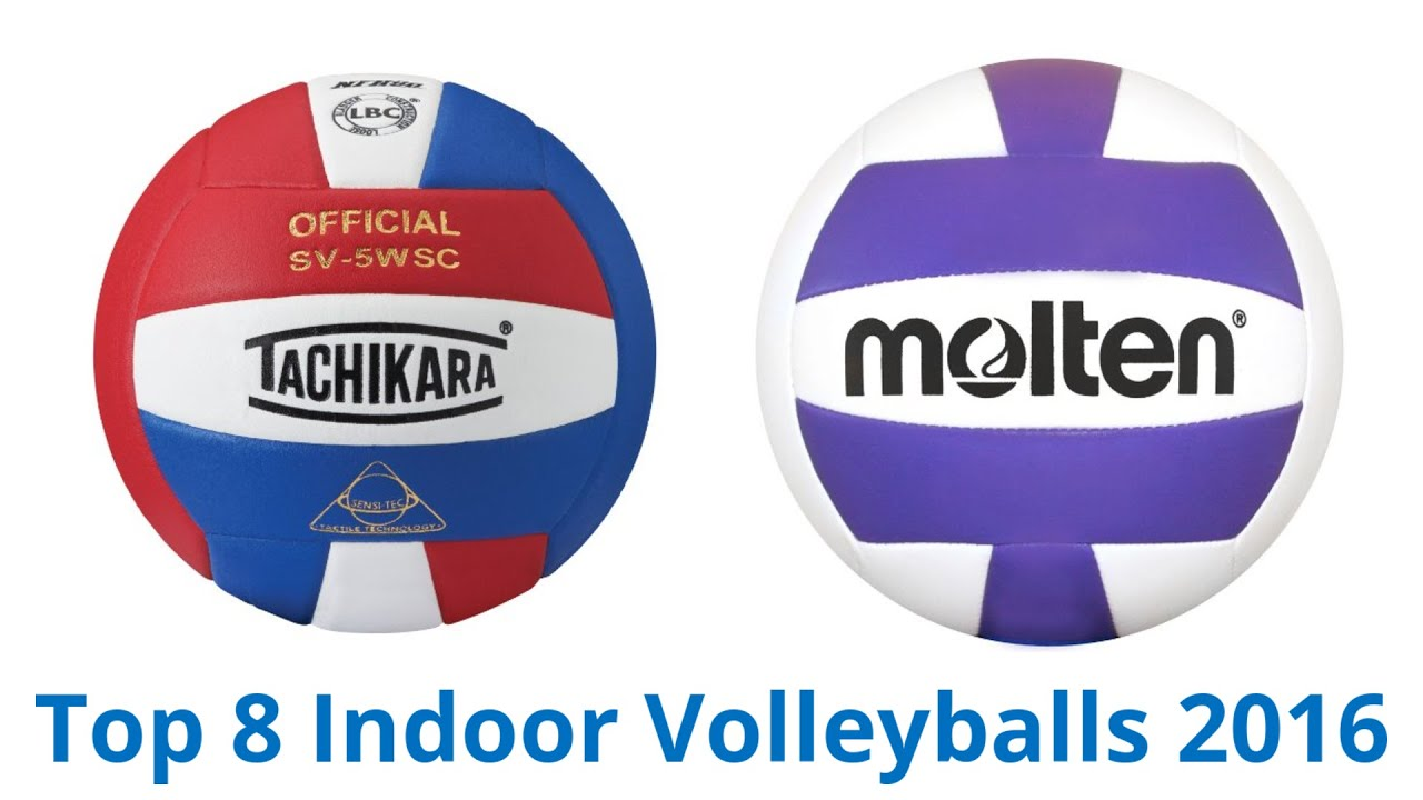 8 Best Indoor Volleyballs 2016