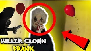 CLOWN PRANK ON DAUGHTER (extreme)