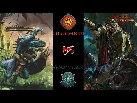 Not On My Moondial - Lizardmen vs Vampire Coast - Total War Warhammer 2 |