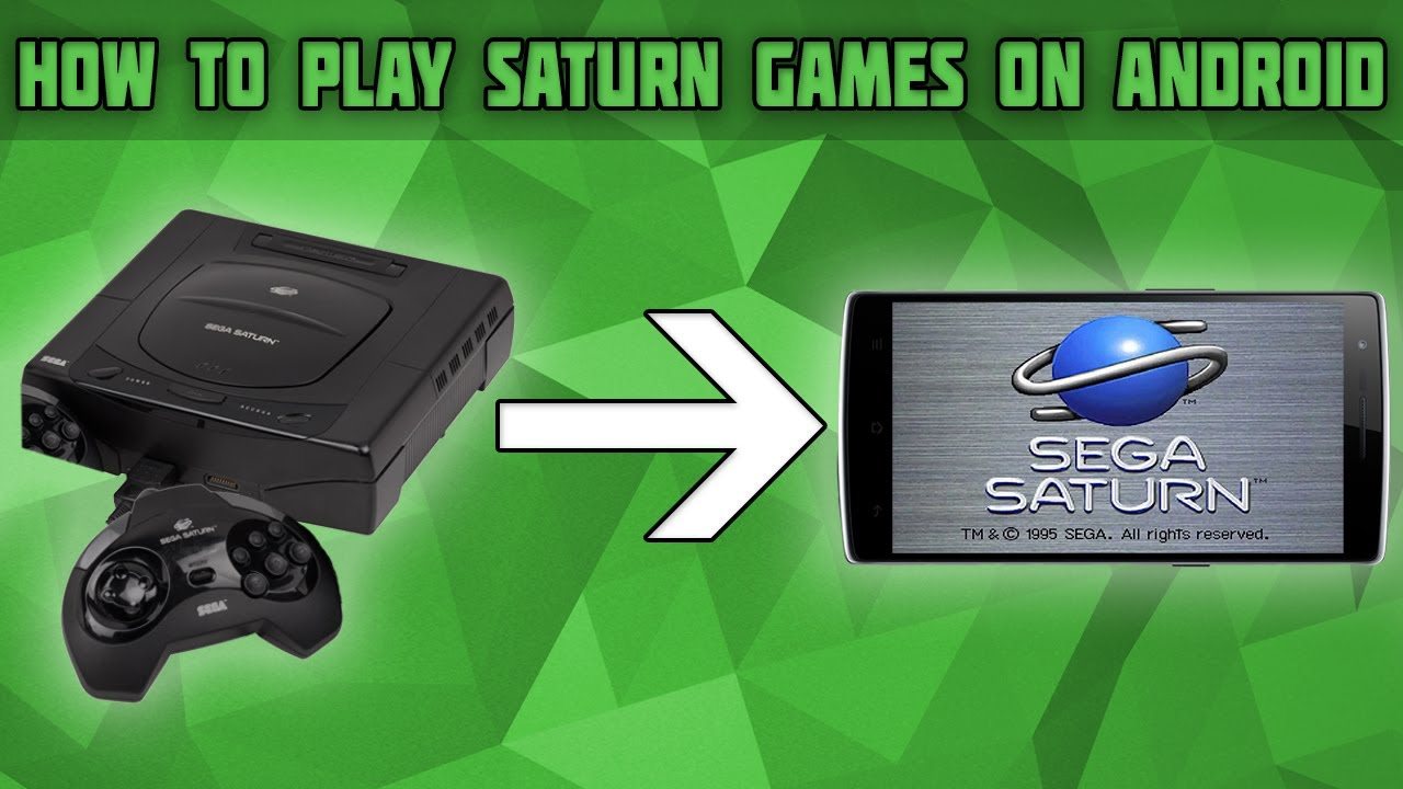 How to Play Sega Saturn Games on Android! uoYabause setup tutorial! Saturn  emulator android!