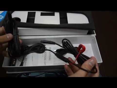 UnPacking Автомобильного зеркало регистратора Blackview MD X2 Dual