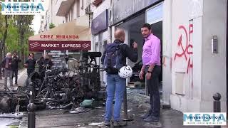 [Violences du 1er mai] Les propriétaires découvrent leurs commerces ravagés