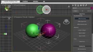 Функция Point Center в 3DsMax 2010 (10/42)