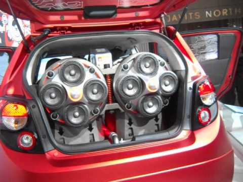 Javits Center Auto Show Chevy Sonic With Kicker Sound