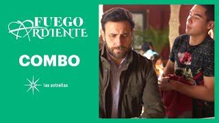 Fuego ardiente: ¡Gabriel descubre que Ramiro es quien extorsiona a Joaquín! | C-65 | Las Estrellas