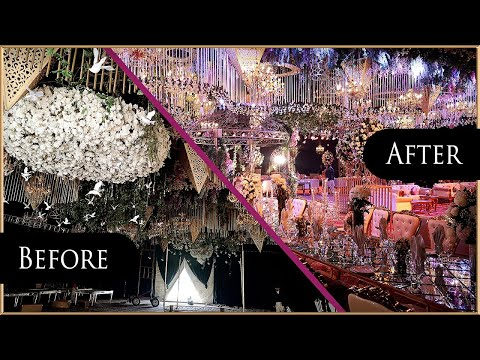 before-and-after-wedding-decorations-in-pakistan-|-top-latest-wedding-decoration-styles-2020