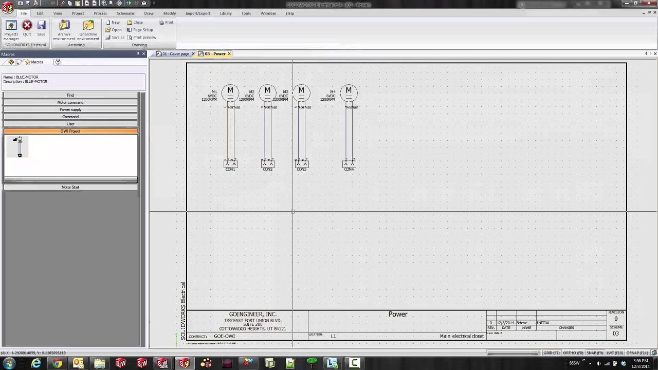 Solidworks Electrical Schematic Revisions Youtube 12 3 Wiring