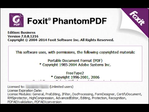 foxit editor activation key