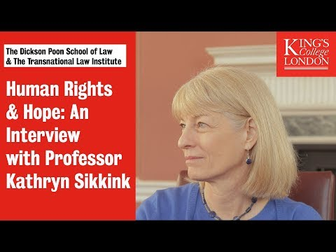 Human Rights and Hope: An Interview with Professor Kathryn Sikkink on YouTube