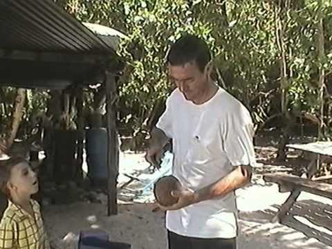 un voilier une famille aux iles Chagos