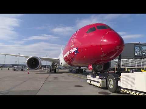 Norwegian Air Humanitarian UNICEF Flight 2017 - Djibouti