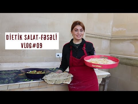 Ruhi Əliyeva - Dietik Salat Və Fəsəli (2-ci Hissə) VLOG#09
