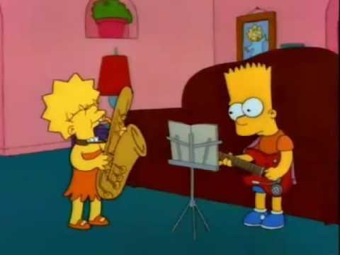 Simpsons - Otto man (Free bird Lynyrd Skynyrd)