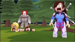 CAN WE ESCAPE THE KILLER CLOWN?! (ROBLOX)