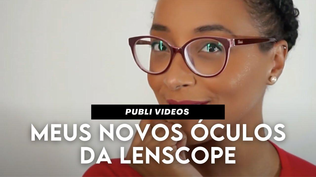 bdc63c95388bc Novas lentes para meus óculos com a LENSCOPE -Testei as lentes TOKAi ...