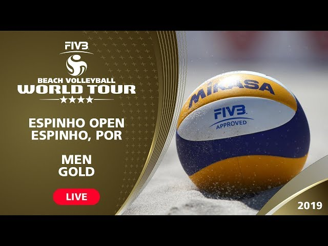 LIVE 🔴 - Men's Gold Medal | 4* Espinho (POR) - 2019 FIVB Beach Volleyball World Tour
