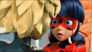 S1 EP10: Miraculous Ladybug - Chat Noir holds Ladybug (HD)