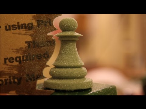 5 minute chess piece : By Conrad Craft   the OmniCraft