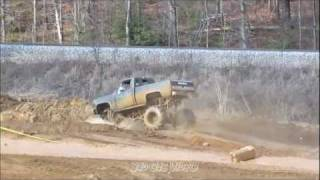 seney mud bog race course new years day