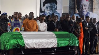 Eulogies For Chinua Achebe As He Is Laid To Rest