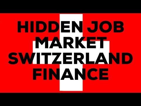 Hidden Job Market Switzerland Finance Industry